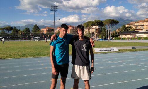 Atletica Frascati, tre titoli regionali Assoluti dalla Rcf: due trionfi per Luciani e uno per Pavoni