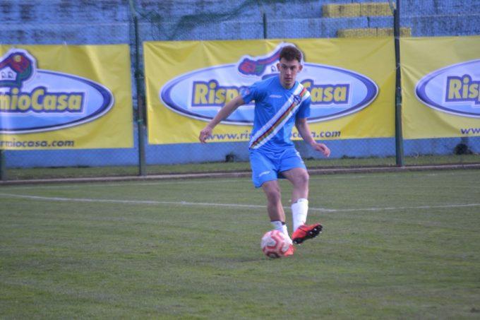 """Cynthialbalonga (calcio, serie D), Santoni: """"Che emozione il primo gol, dedicato ai miei genitori"""""""