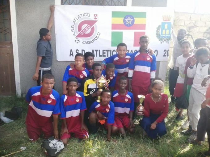 Consegnati in Etiopia i kit donati dalla Asd Atletico Zagarolo 2020