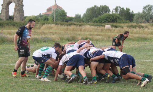 La marea verde/blu dell'Appia Rugby travolge Ftgi Reathyrus Rugby di Rieti