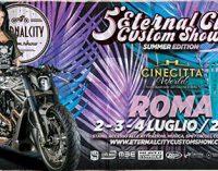 ETERNAL CITY MOTORCYCLE CUSTOM SHOW: a Cinecittà World il salone-spettacolo sul mondo delle moto (2-3-4 luglio)