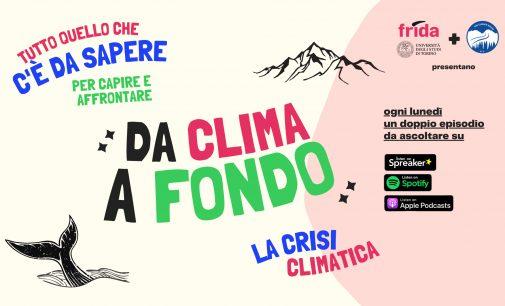 """Università di Torino e The Climate Route presentano """"Da clima a fondo"""","""