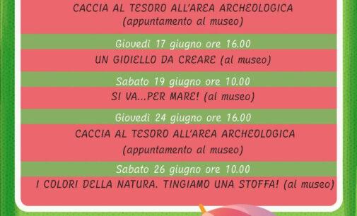 Museo Civico Archeologico Lavinium – Un'estate per giocare e imparare!