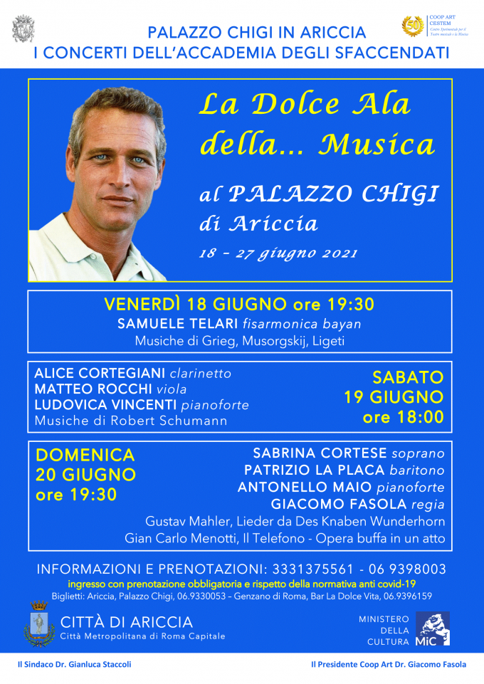 """""""La dolce ala…della musica"""", tornano 'gli Sfaccendati' a Palazzo Chigi…."""
