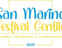 SAN MARINO FESTIVAL GENTILE   6-8 agosto 2021   Repubblica di San Marino