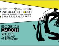 30 eventi per la II edizione di Paesaggi del Corpo  Festival Internazionale Danza Contemporanea   12 giugno – 21 novembre 2021 | Velletri (RM)