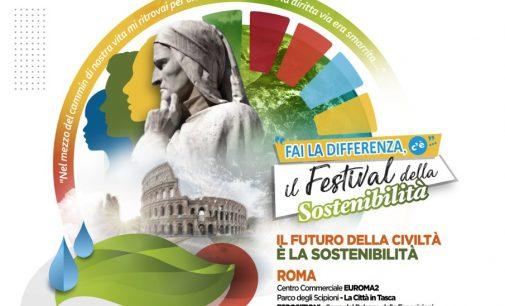 """Prosegue a Roma """"Fai la Differenza, c'è… Il Festival della Sostenibilità"""""""