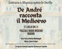 """""""De André racconta il Medioevo"""": le storie di dame e cavalieri tornano a Marino"""