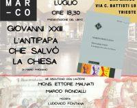"""Al """"San Marco"""" di Trieste l'""""Altro Giovanni XXIII"""", l'antipapa che salvò la chiesa"""