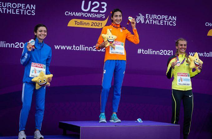 Anna Arnaudo, 10.000m Europei U23, argento e record nazionale U23