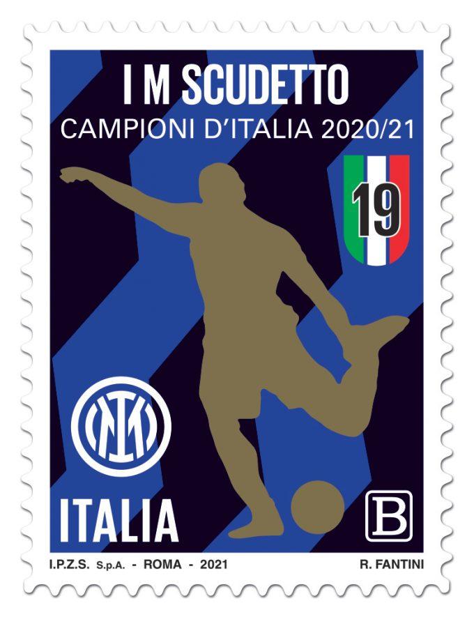 Emissione francobollo Squadra vincitrice Campionato calcio serie A