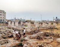 Edoardo Tresoldi a Bari: con un'intervento nell'area archeologica di San Pietro della città  vecchia