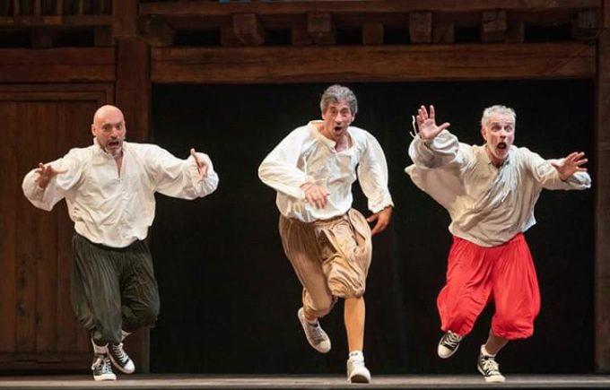 Teatro Tor Bella Monaca- Arena Estiva – LE OPERE COMPLETE DI SHAKESPEARE IN 90'