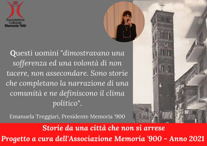 VELLETRI – PROGETTO SUI SOVVERSIVI CON MEMORIA '90