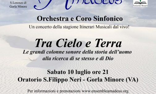 Concerto AMADEUS Tra Cielo e Terra – 10 luglio 2021 ore 21 – Gorla Minore (VA)