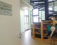 Cori – L'inaugurazione della biblioteca scolastica Rita Levi Montalcini