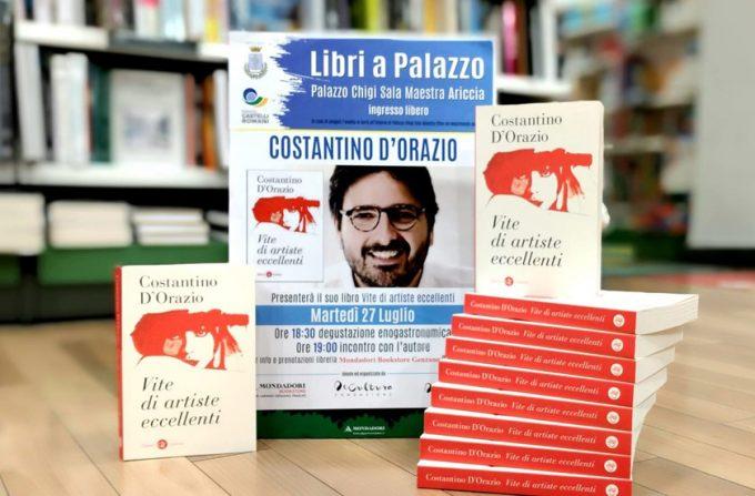 """Costantino D'Orazio a Palazzo Chigi con """"Vite di artiste eccellenti"""""""