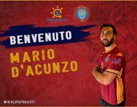 Altro rinforzo per la Lupa Frascati, che ufficializza la firma di Mario D'Acunzo per la stagione 2021-2022.