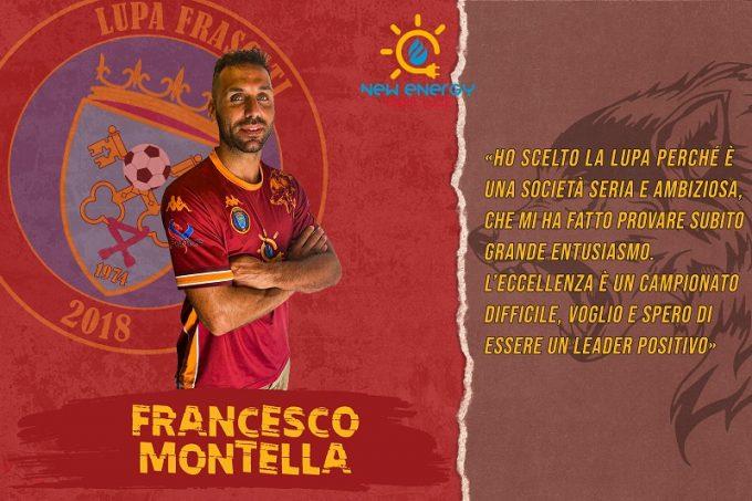 Francesco Montella arriva a Frascati con grandi motivazioni
