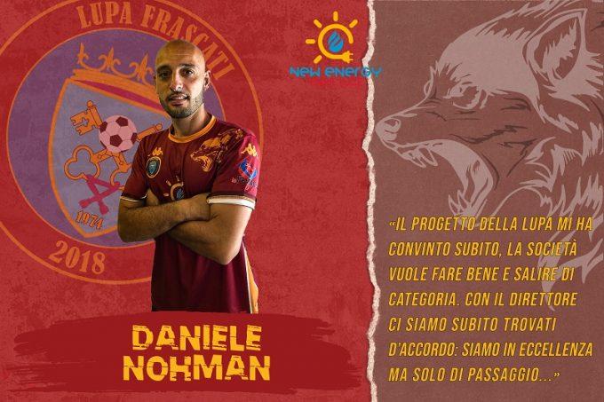 Intervista rilasciata da Daniele Nohman in occasione della sua presentazione.