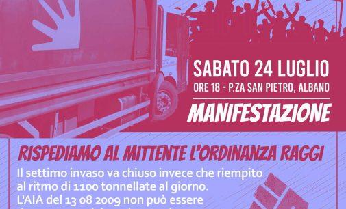 Manifestazione ad Albano sabato 24 luglio, ore 18.00