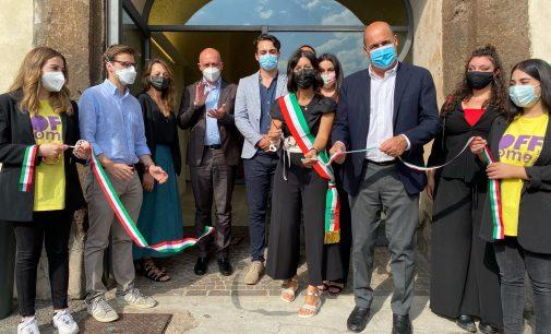 """Zagarolo – Inaugurato lo spazio """"Officine Creattive"""" nel Cantinone di Palazzo Rospigliosi"""