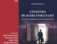 CONFESSO DI AVER INSEGNATO: venerdì a Cori la presentazione del libro di Giorgio Maulucci