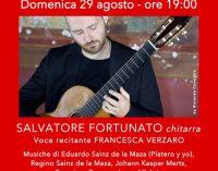 Al Palazzo Chigi di Ariccia recital del chitarrista Salvatore Fortunato