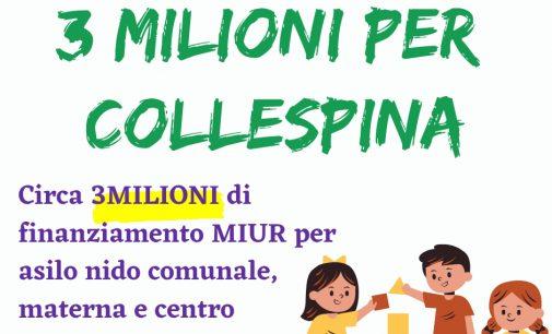 Labico, dal MIUR 3 milioni di investimenti per Collespina