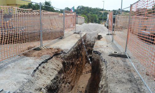 Campo Jemini, al via i lavori di scavo per la costruzione delle fognature bianche