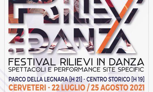 FESTIVAL RILIEVI In DANZA 2021 – I Edizione  22 luglio – 25 agosto | Cerveteri (RM)