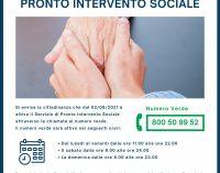Si inaugura a Marino il  PRONTO INTERVENTO SOCIALE