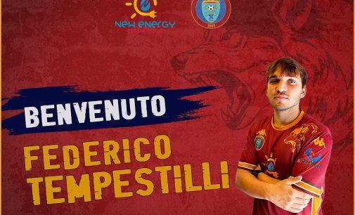 Federico Tempestilli, nuovo calciatore della prima squadra di Eccellenza.