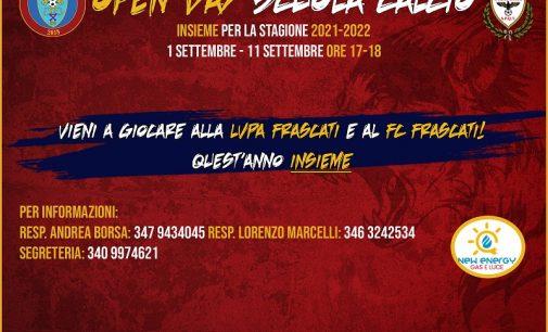 La LVPA Frascati ed il FC Frascati insieme per la stagione 2021-2022 della Scuola Calcio.