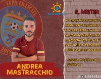 La LVPA Frascati è felice di presentare Andrea Mastracchio come allenatore degli Under 14 Elite.