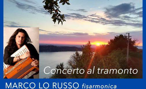 Concerto al Tramonto a Palazzola con il fisarmonicista Marco Lo Russo