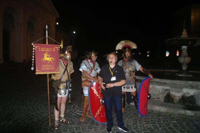 Grande riscontro di pubblico per le visite notturne proposte da Archeoclub Aricino Nemorense