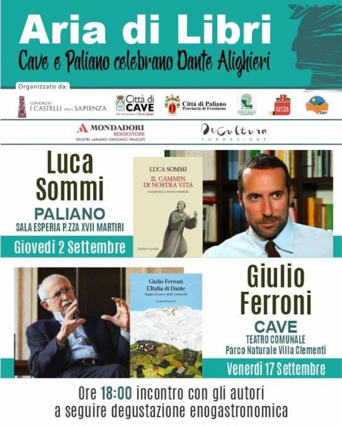 Dante Alighieri a Cave e Paliano: due incontri sul Sommo Poeta