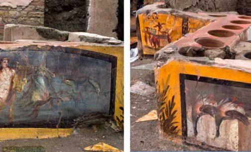 Pompei. Apre al pubblico il Termopolio Della Regio V