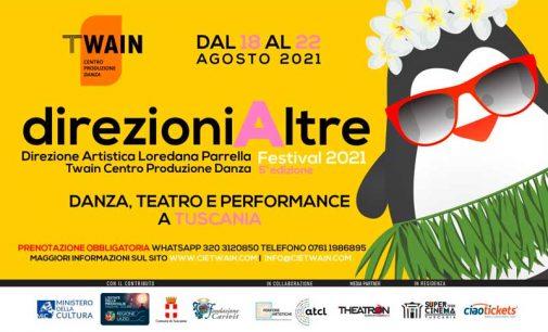 direzioniAltre Festival 2021 – TWAIN Centro Produzione Danza