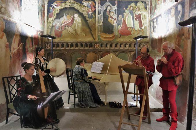 """Cori – Le melodie di """"SPAGNOLETTA NUOVA"""" all'Oratorio dell'Annunziata"""