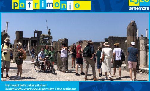 POMPEI – GIORNATE EUROPEE DEL PATRIMONIO  25 -26 SETTEMBRE