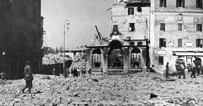"""Da Rocca Priora, i ricordi di una decenne sul """"Bombardamento di Frascati"""""""