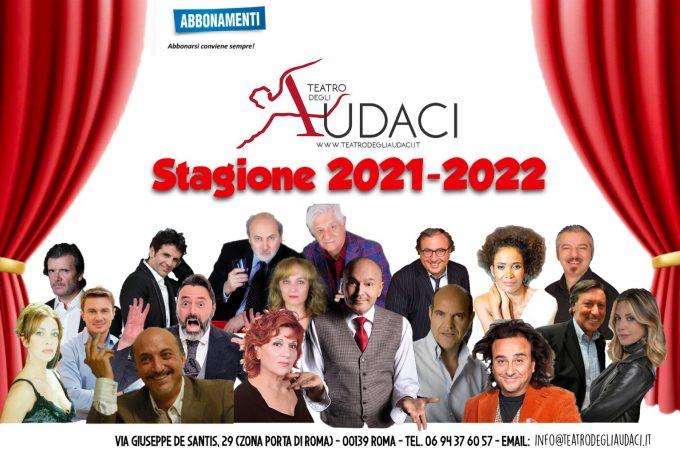 """""""Si riparte al Teatro degli Audaci con la nona stagione"""""""