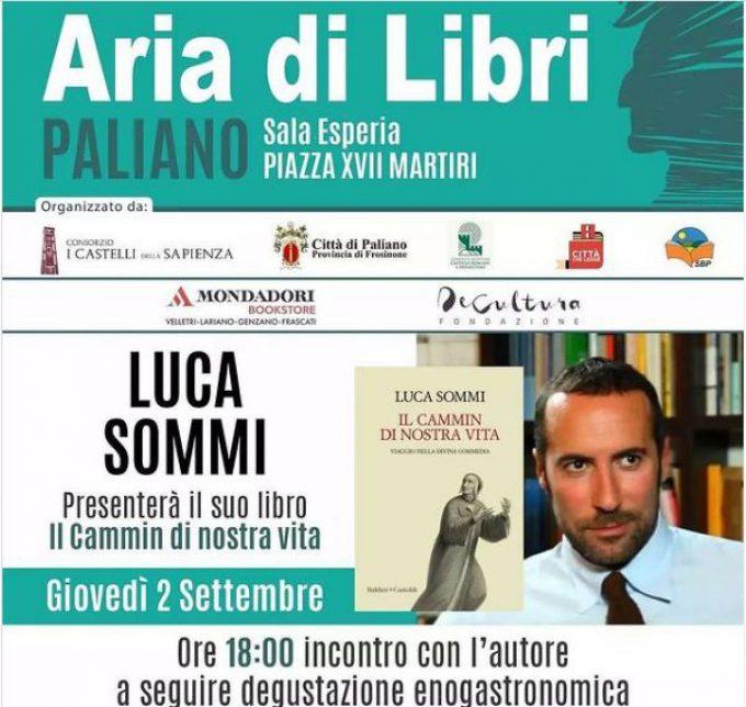 """Paliano – Con Luca Sommi viaggio nella """"Commedia"""""""