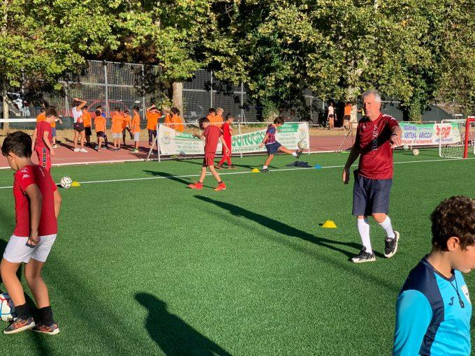Lupa Frascati e Fc Frascati, Ceccarelli farà lezioni di tecnica individuale per la Scuola calcio