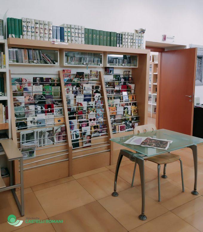 Nuovo pieno di libri per le biblioteche dei Castelli Romani