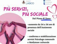 Labico, potenziati i servizi tra assistenti sociali, psicologi e mediatori