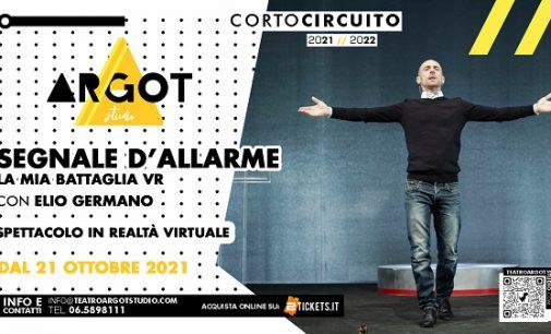 Teatro Argot Studio – SEGNALE D'ALLARME | LA MIA BATTAGLIA VR
