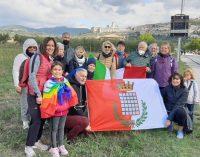 MARCIA PERUGIA- ASSISI, LA CITTA' DI GROTTAFERRATA PRESENTE